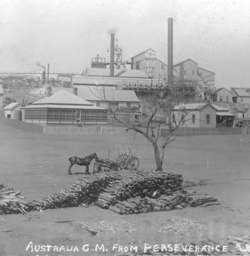 Gold And Silver Mining In Palestine Mail: Boulder, Western Australia